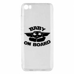 Чехол для Xiaomi Mi5/Mi5 Pro Baby on board yoda