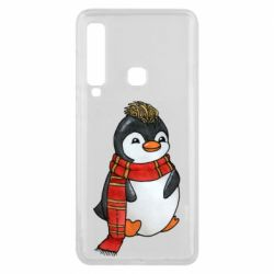Чохол для Samsung A9 2018 Baby penguin with a scarf