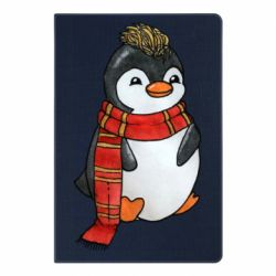 Блокнот А5 Baby penguin with a scarf