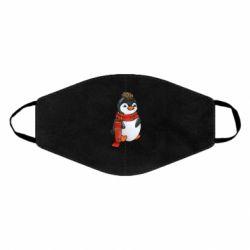 Маска для обличчя Baby penguin with a scarf