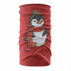 Бандана-труба Baby penguin with a scarf