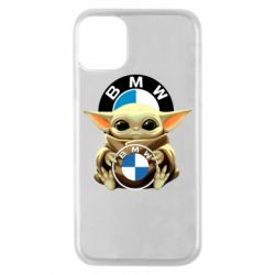 Чохол для iPhone 11 Pro Baby yoda bmw