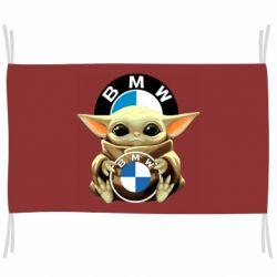 Прапор Baby yoda bmw