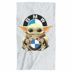 Рушник Baby yoda bmw
