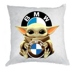 Подушка Baby yoda bmw