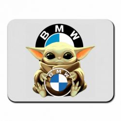 Килимок для миші Baby yoda bmw