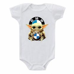 Дитячий бодік Baby yoda bmw