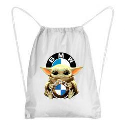 Рюкзак-мішок Baby yoda bmw