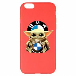 Чохол для iPhone 6 Plus/6S Plus Baby yoda bmw