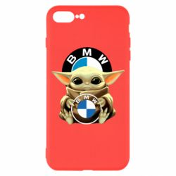 Чохол для iPhone 7 Plus Baby yoda bmw
