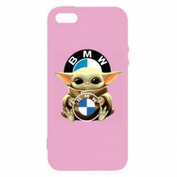 Чохол для iPhone 5 Baby yoda bmw