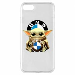 Чохол для iPhone 8 Baby yoda bmw