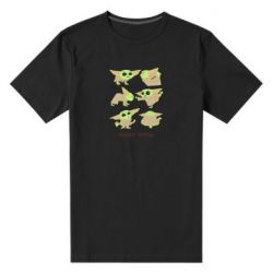 Мужская стрейчевая футболка Baby Yoga