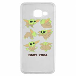 Чехол для Samsung A3 2016 Baby Yoga