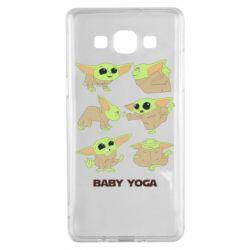 Чехол для Samsung A5 2015 Baby Yoga