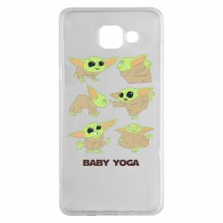 Чехол для Samsung A5 2016 Baby Yoga