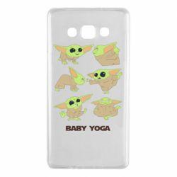 Чехол для Samsung A7 2015 Baby Yoga