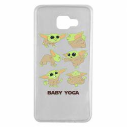 Чехол для Samsung A7 2016 Baby Yoga