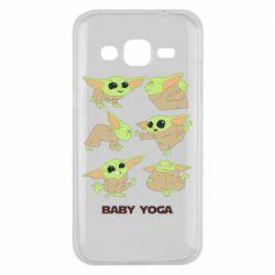 Чехол для Samsung J2 2015 Baby Yoga