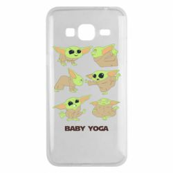 Чехол для Samsung J3 2016 Baby Yoga