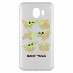 Чехол для Samsung J4 Baby Yoga