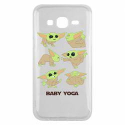 Чехол для Samsung J5 2015 Baby Yoga