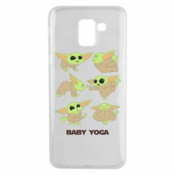 Чехол для Samsung J6 Baby Yoga