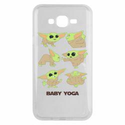 Чехол для Samsung J7 2015 Baby Yoga
