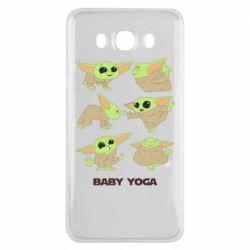 Чехол для Samsung J7 2016 Baby Yoga