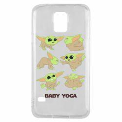 Чехол для Samsung S5 Baby Yoga