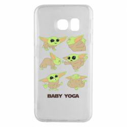 Чехол для Samsung S6 EDGE Baby Yoga