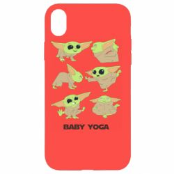 Чехол для iPhone XR Baby Yoga