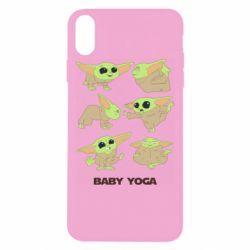 Чехол для iPhone Xs Max Baby Yoga