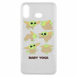 Чехол для Samsung A6s Baby Yoga