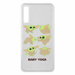 Чехол для Samsung A7 2018 Baby Yoga
