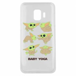 Чехол для Samsung J2 Core Baby Yoga