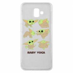 Чехол для Samsung J6 Plus 2018 Baby Yoga