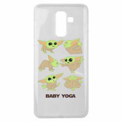 Чехол для Samsung J8 2018 Baby Yoga