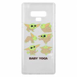 Чехол для Samsung Note 9 Baby Yoga