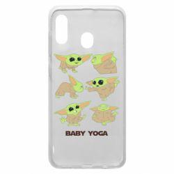 Чехол для Samsung A20 Baby Yoga