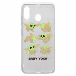 Чехол для Samsung A30 Baby Yoga