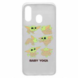 Чехол для Samsung A40 Baby Yoga