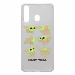 Чехол для Samsung A60 Baby Yoga
