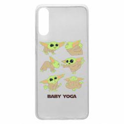 Чехол для Samsung A70 Baby Yoga