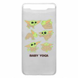 Чехол для Samsung A80 Baby Yoga