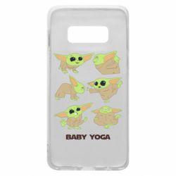 Чехол для Samsung S10e Baby Yoga