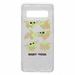 Чехол для Samsung S10 Baby Yoga