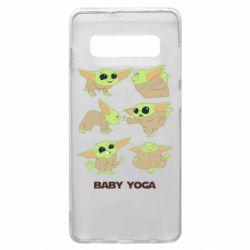 Чехол для Samsung S10+ Baby Yoga