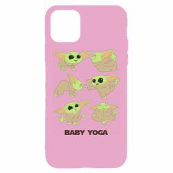 Чехол для iPhone 11 Baby Yoga