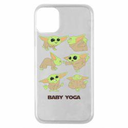 Чехол для iPhone 11 Pro Baby Yoga
